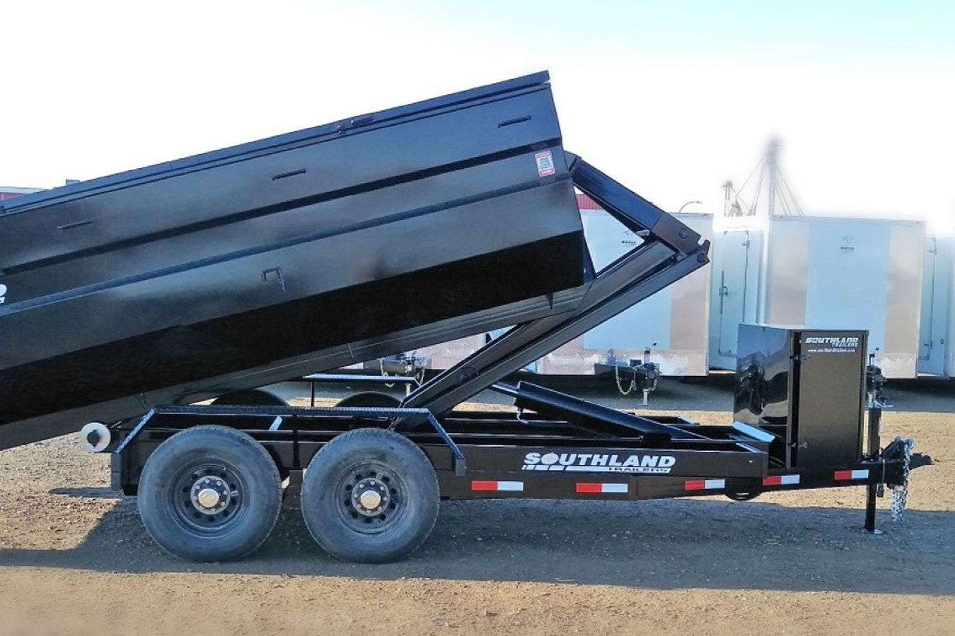 Southland Hook Lift Dump Trailer