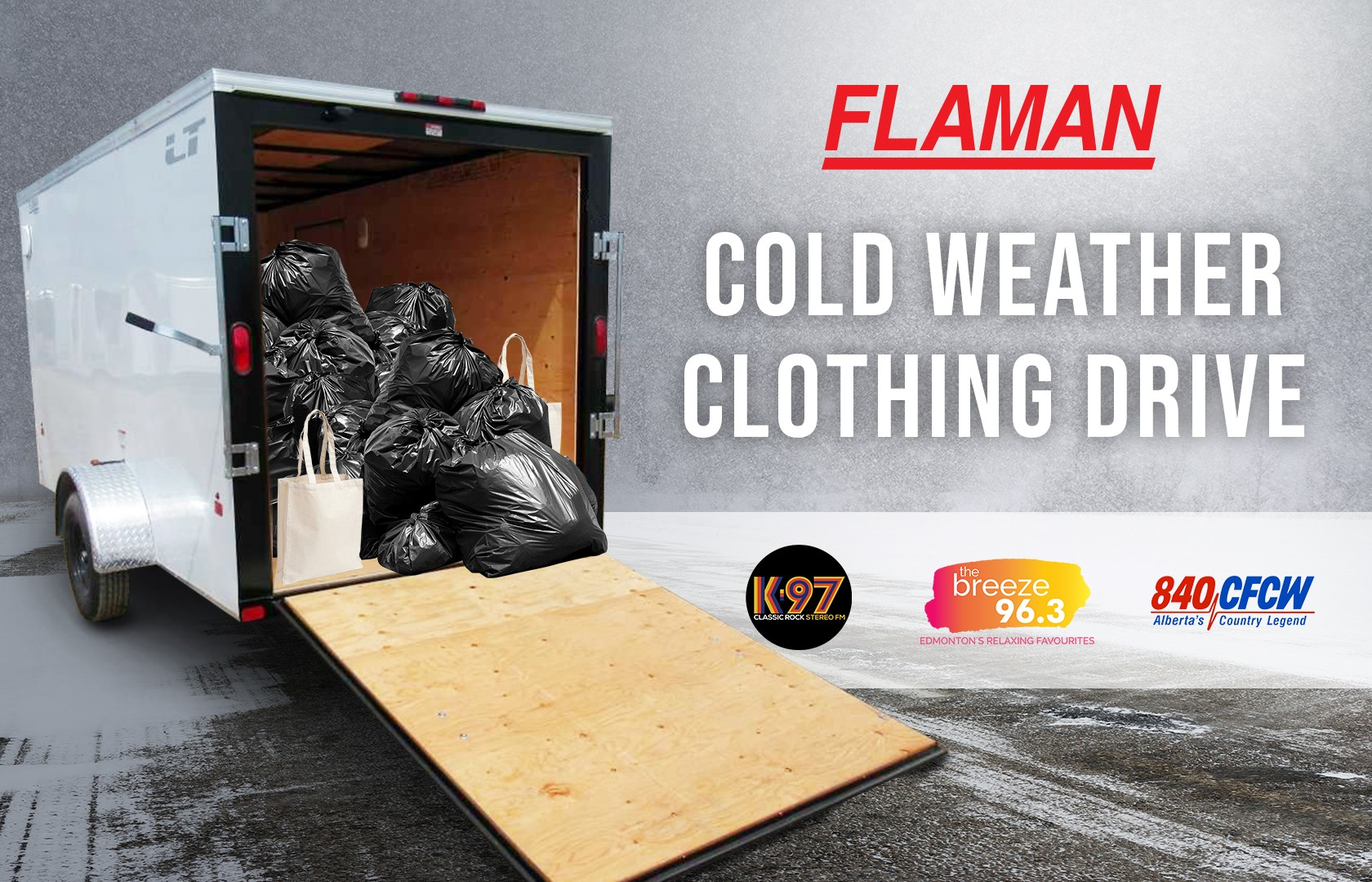 Flaman Cold Weather Clothing Drive