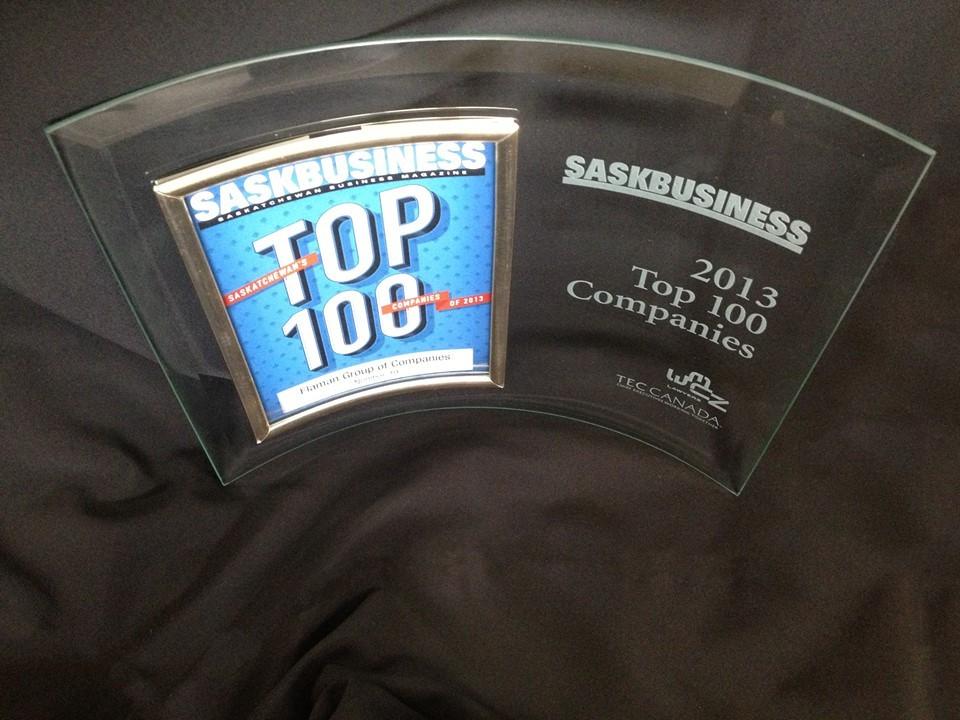 Flaman named Top 100 Company