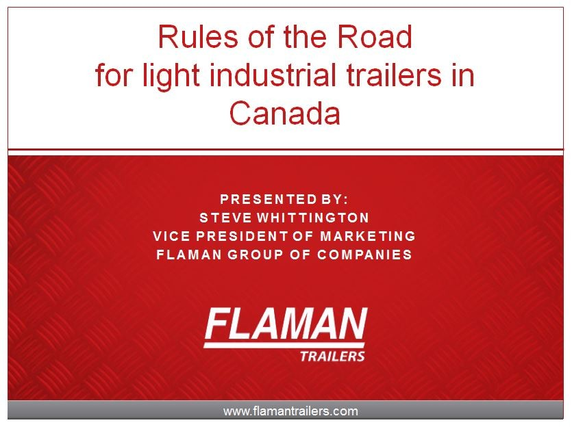 Trailering 'Rules of the Road' Updated
